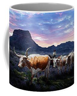 Texas Longhorns Blue Coffee Mug