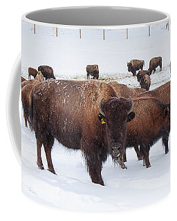 The Herd Coffee Mug by Sean Allen