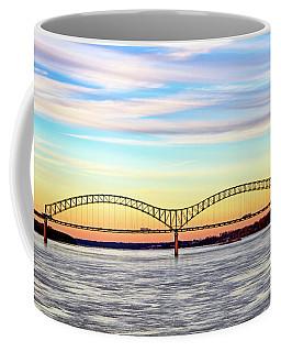 The Hernando De Soto Bridge Coffee Mug