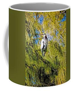 The Heron's Whiskers Coffee Mug