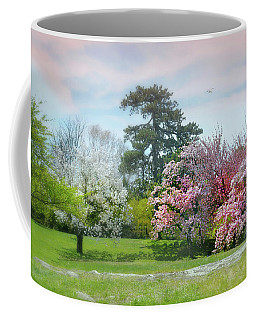 Coffee Mug featuring the photograph The Hidden Garden by Diana Angstadt