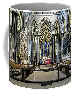 The High Altar In Salisbury Cathedral Coffee Mug
