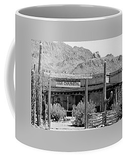The High Chaparral Set With Sign Old Tucson Arizona 1969-2016 Coffee Mug