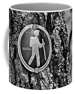The Hiking Sign Coffee Mug