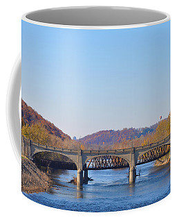 The Hill To Hill Bridge - Bethlehem Pa Coffee Mug