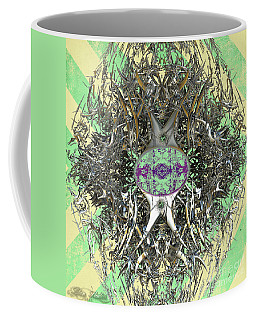Coffee Mug featuring the digital art The Hive by Melissa Messick