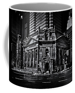 Coffee Mug featuring the photograph The Hockey Hall Of Fame Toronto Canada by Brian Carson