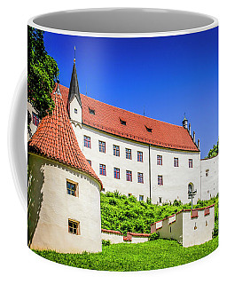 The Hohes Schloss In Fussen Germany Coffee Mug