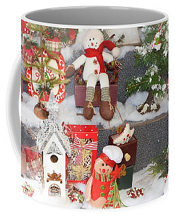 The Holiday Snowman Party Coffee Mug