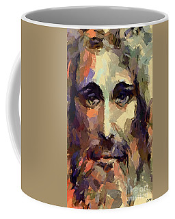 The Holy Face Of Jesus  Coffee Mug