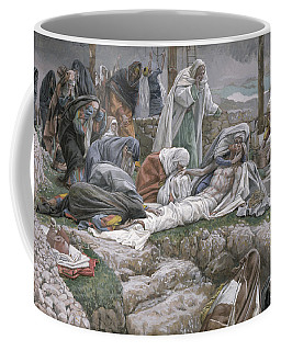 The Holy Virgin Receives The Body Of Jesus Coffee Mug