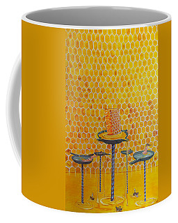 The Honey Of Lives Coffee Mug by Lazaro Hurtado