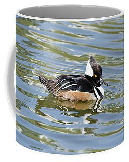 The Hoody On The Fox Coffee Mug by Janice Adomeit