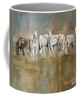 The Horizon Line Coffee Mug by Frances Marino