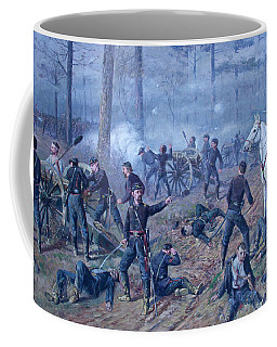 Coffee Mug featuring the painting The Hornets' Nest by Thomas Corwin Lindsay