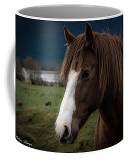 The Horse Coffee Mug by Andrew Matwijec
