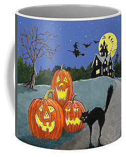 The House On Cemetery Hill Coffee Mug