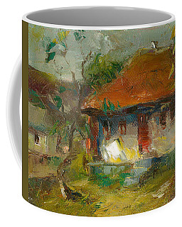 The House With Red Roof Coffee Mug