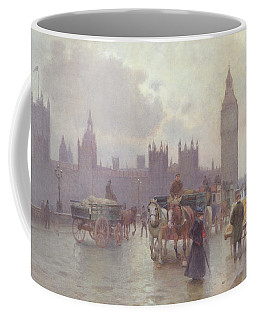 The Houses Of Parliament From Westminster Bridge Coffee Mug