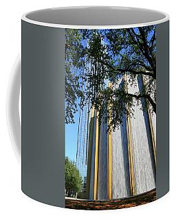 The Houston Water Wall And Williams Tower Coffee Mug