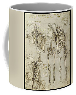 Coffee Mug featuring the painting The Human Ribcage by James Christopher Hill