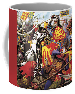 The Hundred Years War  The Struggle For A Crown Coffee Mug
