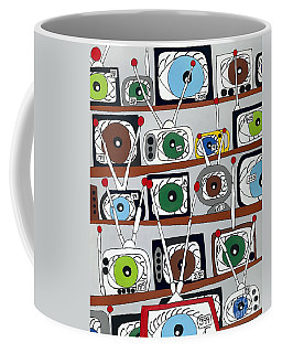 The Hungry Eye Coffee Mug