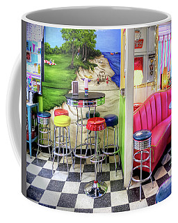 The Ice Cream Shoppe In Duval, Wa Coffee Mug by Greg Sigrist