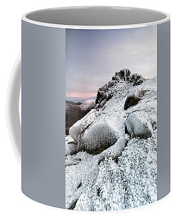The Ice Queen Returns, North Tor Slieve Bearnagh Coffee Mug