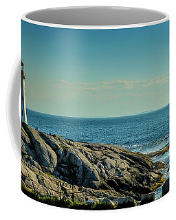The Iconic Lighthouse At Peggys Cove Coffee Mug