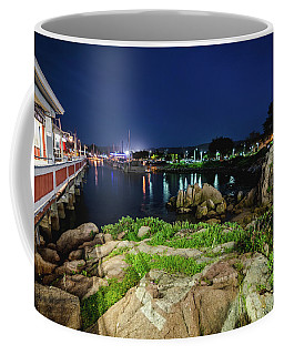 The Illuminated Wharf Coffee Mug