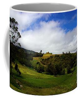 The Inca-canari Ruins At Ingapirca Vi Coffee Mug