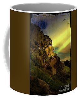 The Inca Face At Ingapirca Coffee Mug by Al Bourassa