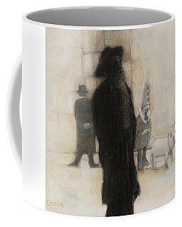 The Incongruity Of It All  Coffee Mug by Jean Cormier
