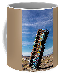 Coffee Mug featuring the photograph The International Car Forest Of The Last Church 2 by James Sage