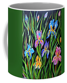 The Irises Coffee Mug