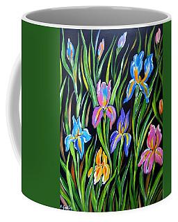 The Irises Coffee Mug