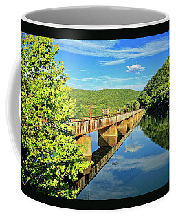 The James River Trestle Bridge, Va Coffee Mug