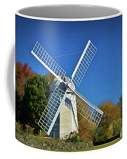 The Jamestown Windmill Coffee Mug