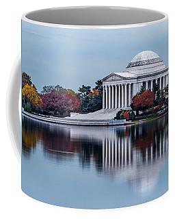 The Jefferson In Baby Blue Coffee Mug