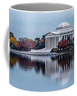 The Jefferson In Baby Blue Coffee Mug