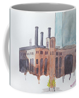 The Jersey City Powerhouse Coffee Mug by Keshava Shukla