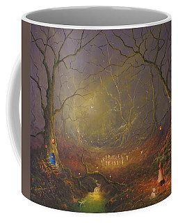 The Fairy Ring Party Coffee Mug by Joe Gilronan