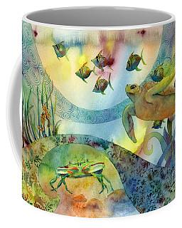 The Journey Begins Coffee Mug