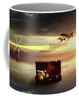 The Journey Begins  Coffee Mug by Nathan Wright