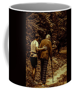 The Journey Coffee Mug by Michael Nowotny
