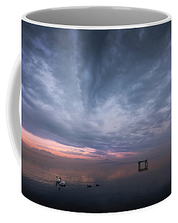 The Journey Of The Swans Coffee Mug