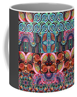 The Joy Of Design Mandala Series Puzzle 7 Arrangement 3 Coffee Mug