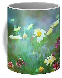 The Joy Of Summer Flowers Coffee Mug