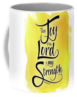 The Joy Of The Lord - Yellow Coffee Mug